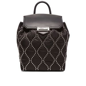 Alexander Wang Black Prisma Studded Backpack $1095